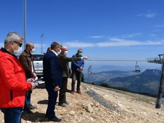 keltepe ski center is getting ready for winter season