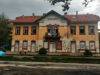 restaurering af kirklareli historiske station bygning begynder