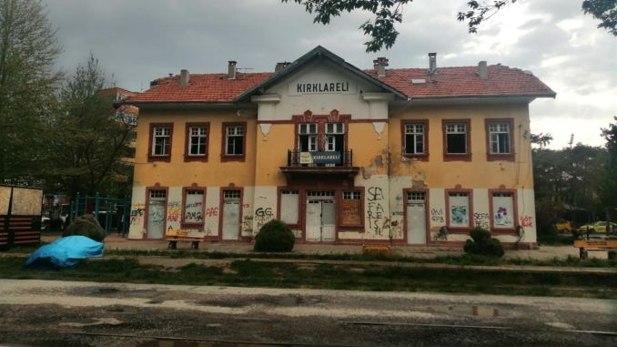 restoration of kirklareli historic station building begins