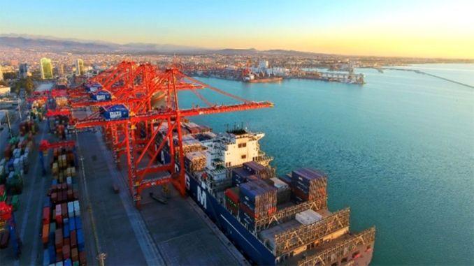 Ich würde den Außenhandel des Hafensektors Turkiyenin nehmen