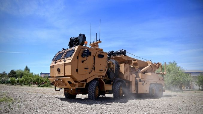 Delivery of partial protected rescue mk against mine continues