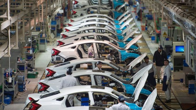 all of the automotive factories will start production in May