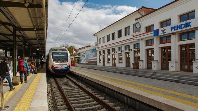 pendik high speed train