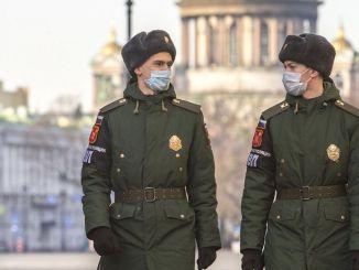 ရုရှားစစ်တပ်တွင် Coronavirus နှိုးစက်