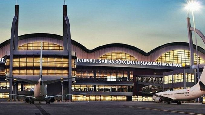 Countdown for the flights started again at Sabiha Gokcen Airport