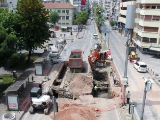 Infrastructure work started on Talatpasa Boulevard