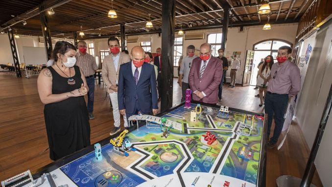Die historische Havagazi-Fabrik wurde zu einem Jugendlager