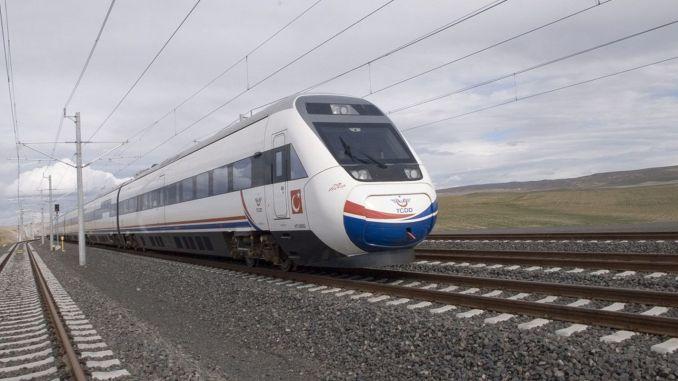 Ankara Istanbul Hochgeschwindigkeitszug mit der Entscheidung des Mai Ministeriums