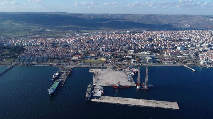 kota deskripsi kota besar tekirdag pelabuhan tekirdag