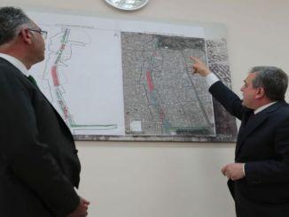 văn phòng liên lạc mở cho dự án đường du lịch