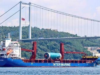 Aproximativ o mie de nave au trecut prin strâmtoarea turcească