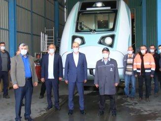 turco es el presidente general atalay dio una fecha para el tren eléctrico nacional