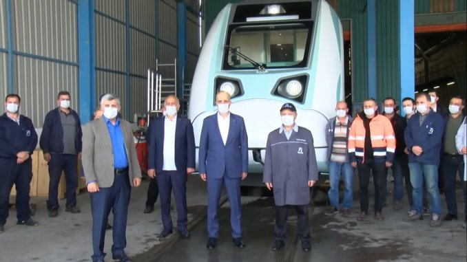 turk is general president atalay gave a date for the national electric train