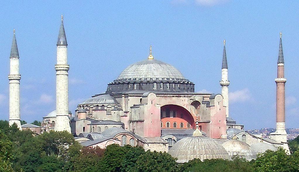 Distinguishing Features of Hagia Sophia