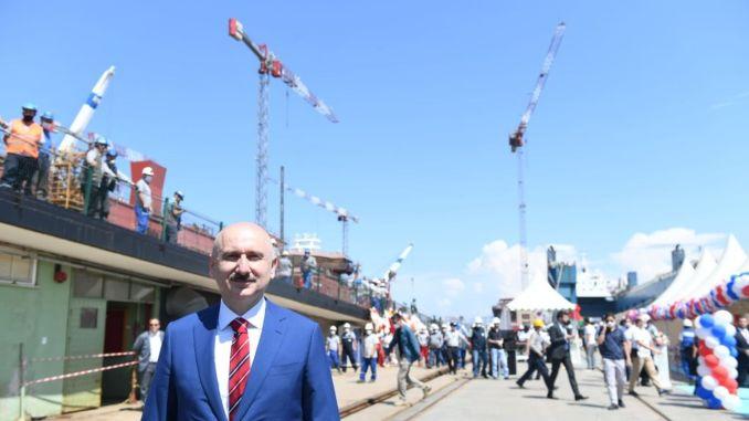 ministar je sudjelovao u pokretanju tvorničkog kolica, karaismailoglu