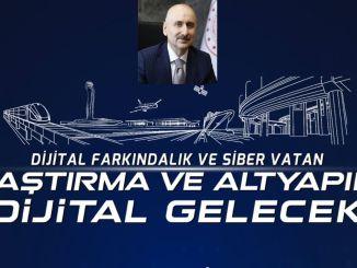 miniszter, aki elmagyarázza a szolgáltatás-orientált digitalizálást a karaismailog segítségével