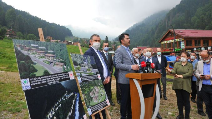 minister institution made examinations on ayder plateau