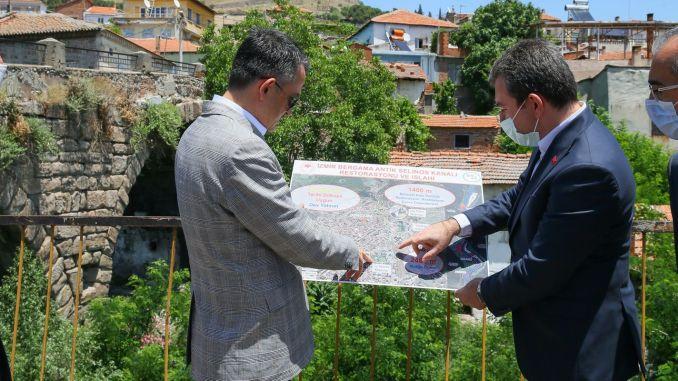 貝爾加馬將成為其古老的塞利諾斯水渠項目的吸引力中心