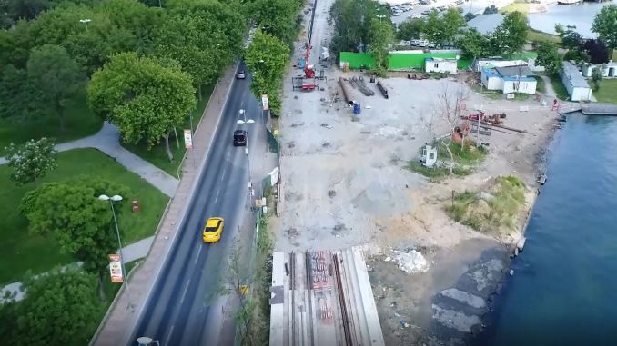 eminonu alibeykoy tram line will reach the end of the year