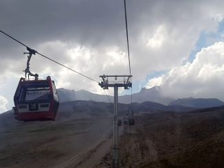 erciyes cable car facilities opened