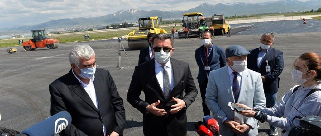 Kurangna damel di bandara gubernur erzurum ngaganggu payudara