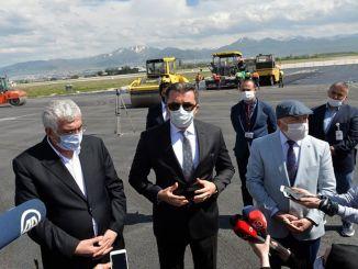 Mangel på arbejde i erzurum-guvernørens lufthavn forstyrrede brystet