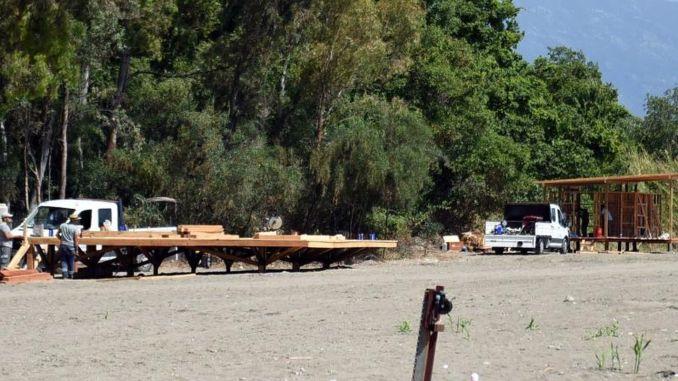 Fethiye karaot beach is becoming a public beach