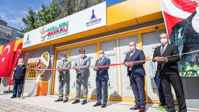 Købmanden blev markeret og åbnet for Karsiyakaya.