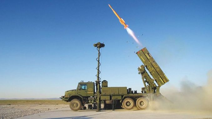 fort he air defense missile system was also deployed to Syria
