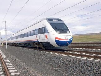 tender announcement ankara Eskisehir yht line will be constructed with arch walls.