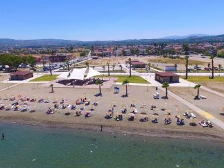 The number of blue flagged beaches in Izmir has increased