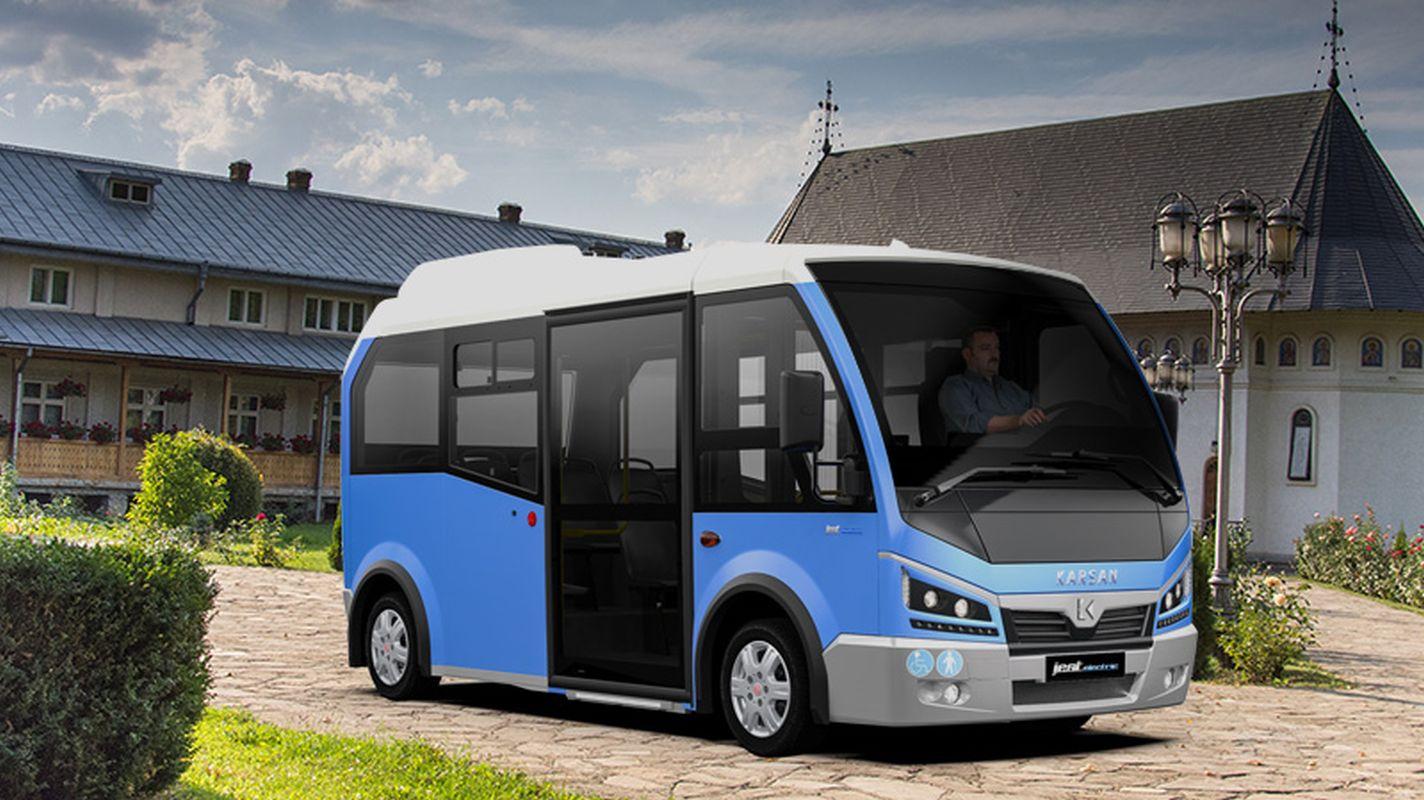 karsan romanyada elektrikli minibus ihalesini kazandi