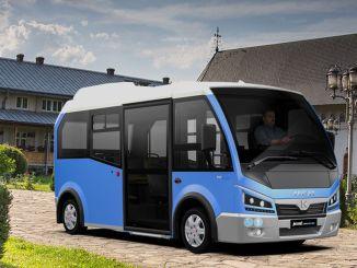 karsan vinder bud på elektrisk minibus i Rumænien