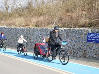 Bicycle road was built annually in Kocaeli