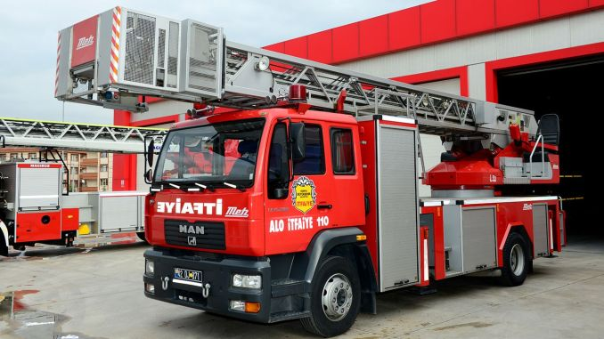 konya buyuksehir municipality will make firefighters