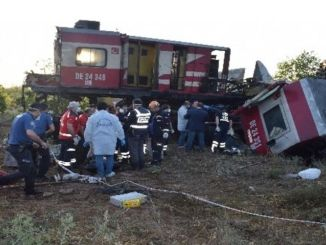 несрећа теретног влака у Малатии