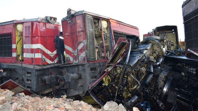 تحطم قطار في حادث ملاطية لا قتل