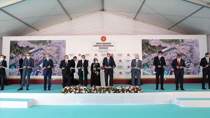 marmara university prof dr asaf ataseven hospital opened