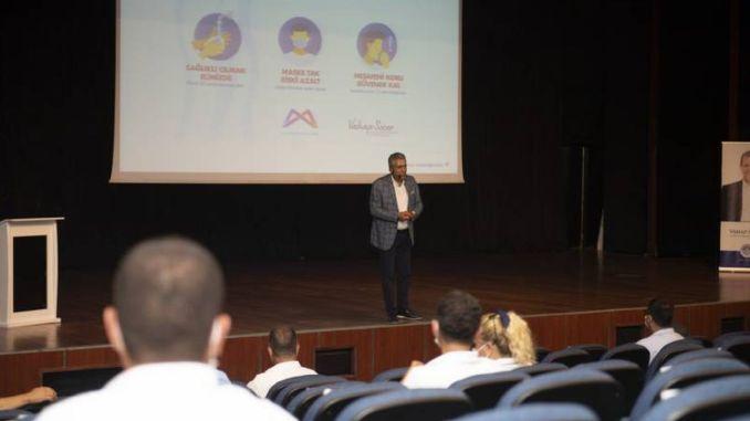 План за осведоменост за нормализиране на водачите на обществения транспорт в Мерсин