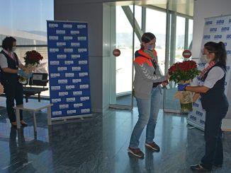Internationale fly startede ved milas Bodrum lufthavn