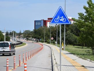 Omu kurupelit campus cycle path is completed on the face