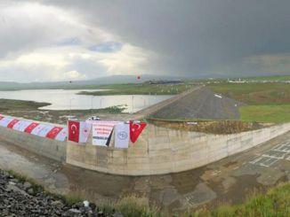Kars Dam kommer att vara jordbrukets vatten