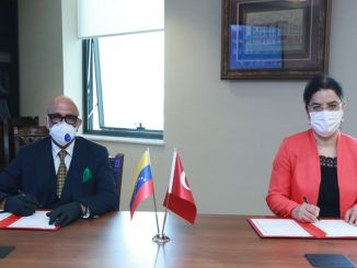 Venezuela in the field of health is between turkey grant agreement was signed