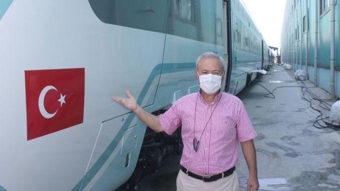 Generalni direktor Tuvasas-a povjerio je nacionalni vlak Sakaryi.