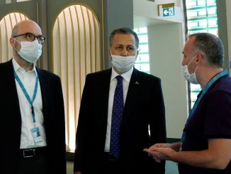 Governor Yerlikaya made investigations at Istanbul Airport