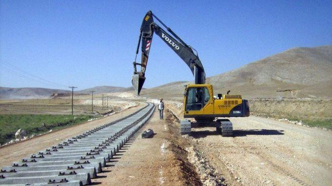 קרן אנקרה פרויקט רכבת במהירות גבוהה