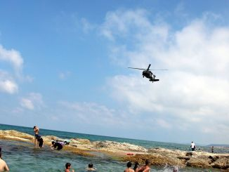 Helicopter Assisted Beach Inspection from Gendarmerie