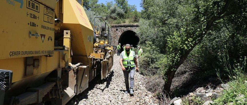 עבודות פילוס החלו במנהרות הרכבת באפיון