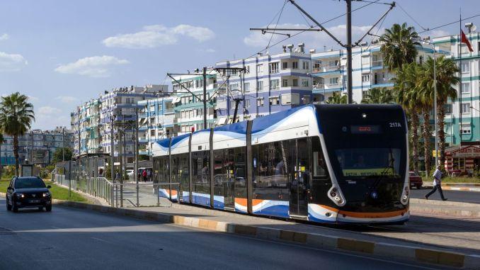 July in Antalya transportation is free