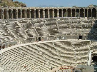 aspendos theater history and features